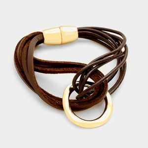 Jewelry - ENTANGLED LEATHER
